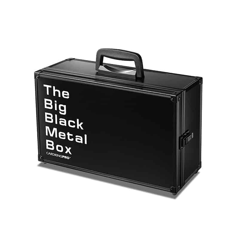The Big Black Metal Box   BBB   Professional Storage Case ...