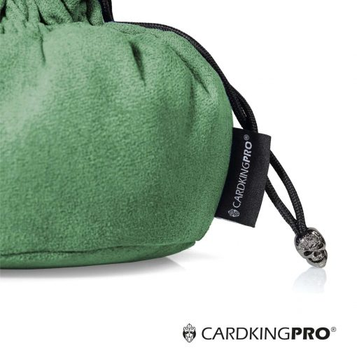 Immense Dice Bags with Pockets – Green – Capacity 150+ Dice – Great for Dice Hoarders