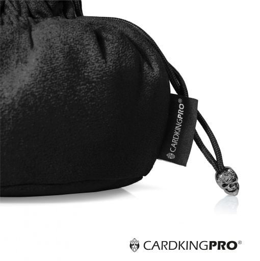Immense Dice Bags with Pockets – Black – Capacity 150+ Dice – Great for Dice Hoarders