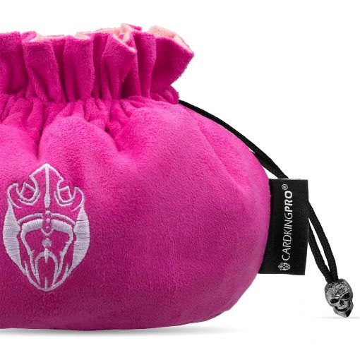 Immense Dice Bags with Pockets – Pink – Capacity 150+ Dice – Great for Dice Hoarders