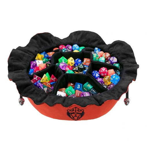 Immense Dice Bags with Pockets – Burnt Orange