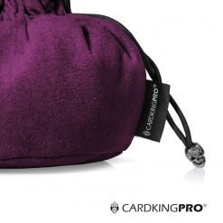Immense Dice Bags with Pockets – Purple – Capacity 150+ Dice – Great for Dice Hoarders